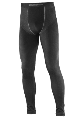 Salomon - Primo Warm Tight Seamless M - Dark Grey