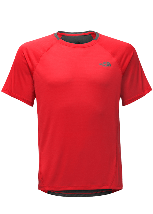 North Face – M Better Than Naked T-Shirt – Red