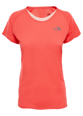 North Face - M Better Than Naked T-Shirt W - Red