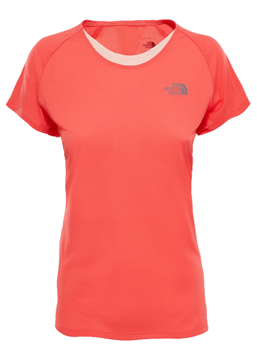 North Face – M Better Than Naked T-Shirt W – Red
