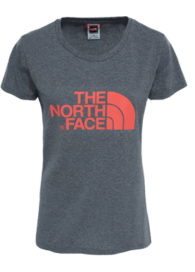 North Face - W Ss Easy Tee - Grey