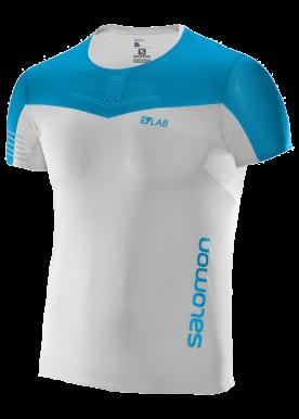 Salomon - S-Lab Sense Tee M - White-Blue