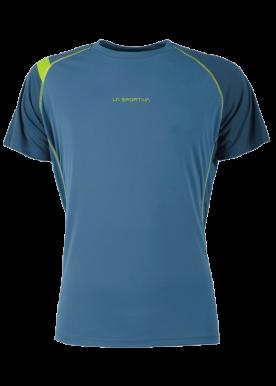La Sportiva - Motion T-Shirt M Mountain Running - Blue
