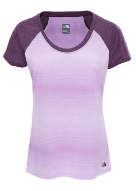 The North Face - W Ss Adventuress Top - Purple