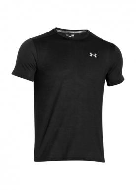 Under Armour - Treadborne Streaker Ss T-Shirt - Black