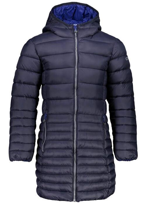 CMP – Girl Fix Hood Coat – Blue