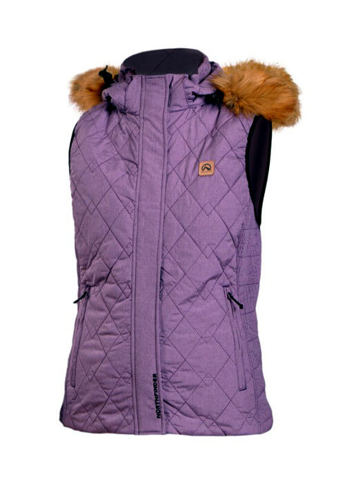 Northfinder – Herriet Vest – Purple
