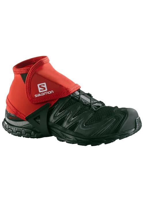 Salomon – Trail Gaiters Low – Red