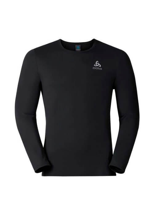 Odlo – Imperium Longsleeved Running T-Shirt – Black