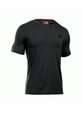 Under Armour - Cc Left Chest Lockup T-Shirt - Dark Grey