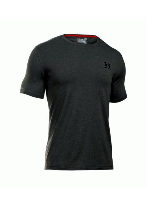 Under Armour – Cc Left Chest Lockup T-Shirt – Dark Grey