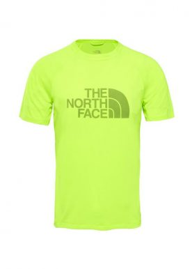 The North Face - Flight Btn Ath Ss M - Yellow
