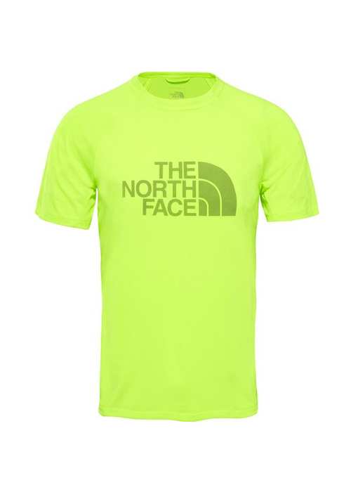 The North Face – Flight Btn Ath Ss M – Yellow
