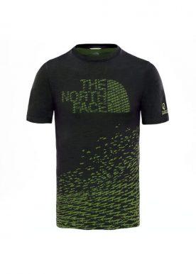 The North Face - Flight Logo SS M - Dark Green