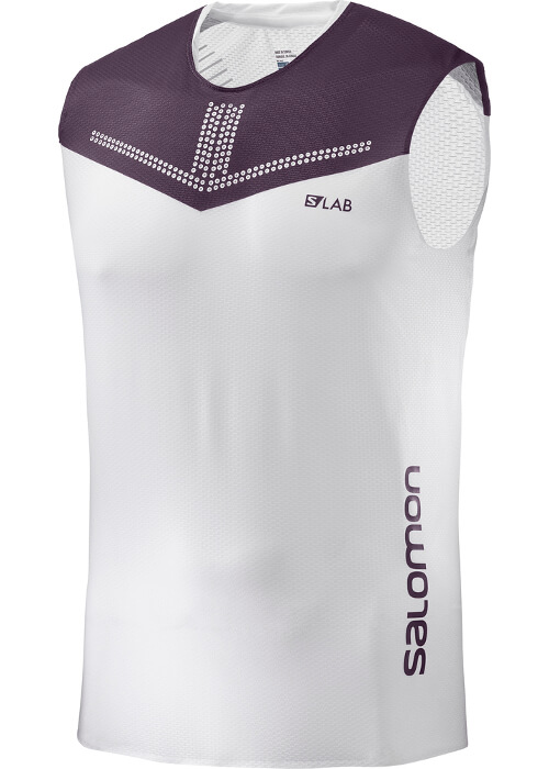 Salomon – S-Lab Sense Tank M – White