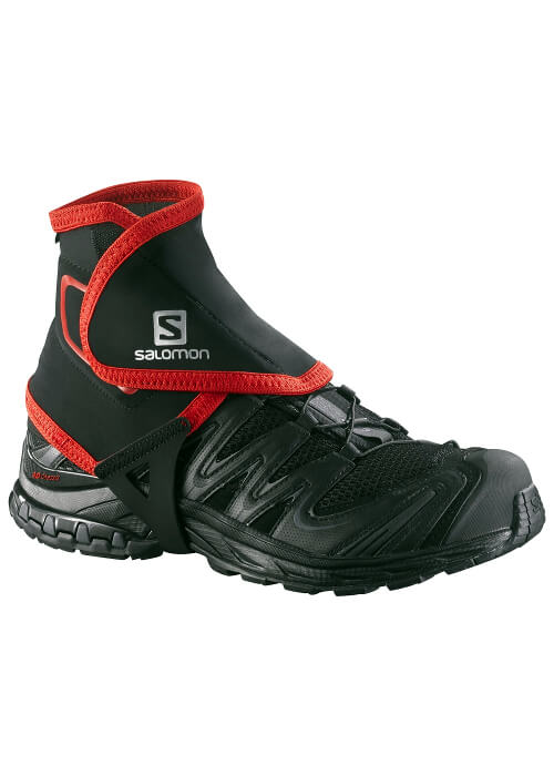 Salomon – Trail Gaiters High – Black