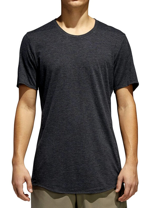 Adidas – Sn Ss Pure Tee – Dark Grey