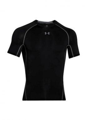 Under Armour - Ua Hg Armour Ss T-Shirt K-M - Black