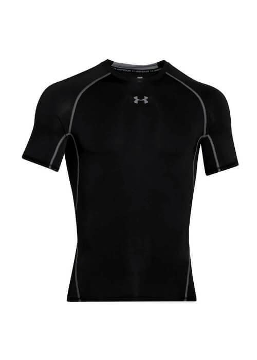 Under Armour – Ua Hg Armour Ss T-Shirt K-M – Black