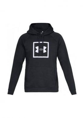 Under Armour - Ua Rival Fleece Logo Hoodie M - Black