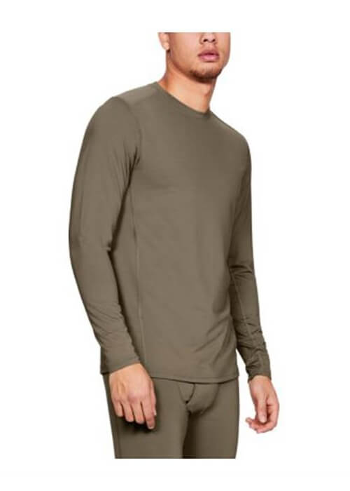 Under Armour – Ua Tactical Crew Base Long Sleeve Shirt M – Beige