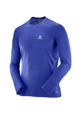 Salomon - Trail Runner Ls Tee M - Blue