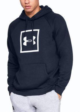 Under Armour - Ua Rival Fleece Logo Hood - Blue