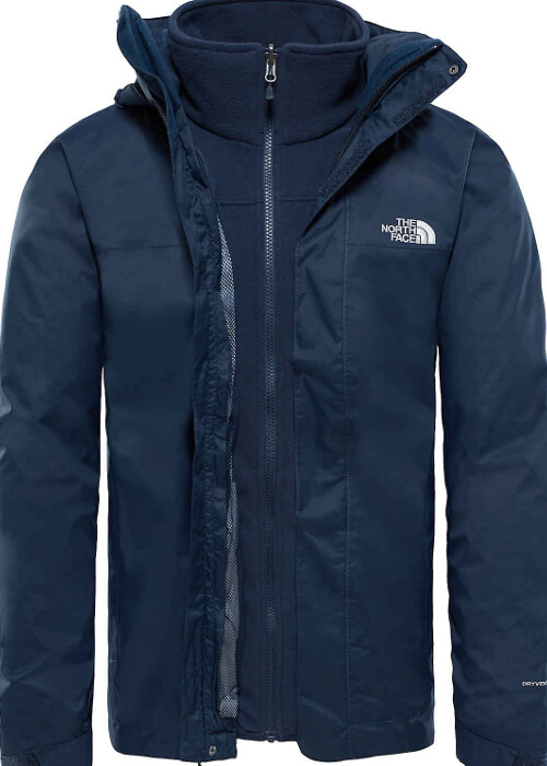 The North Face – Evolve II Triclimate Jacket M – Dark Blue