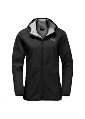 Jack Wolfskin - Northern Point Windproof Softshell Jacket W - Black
