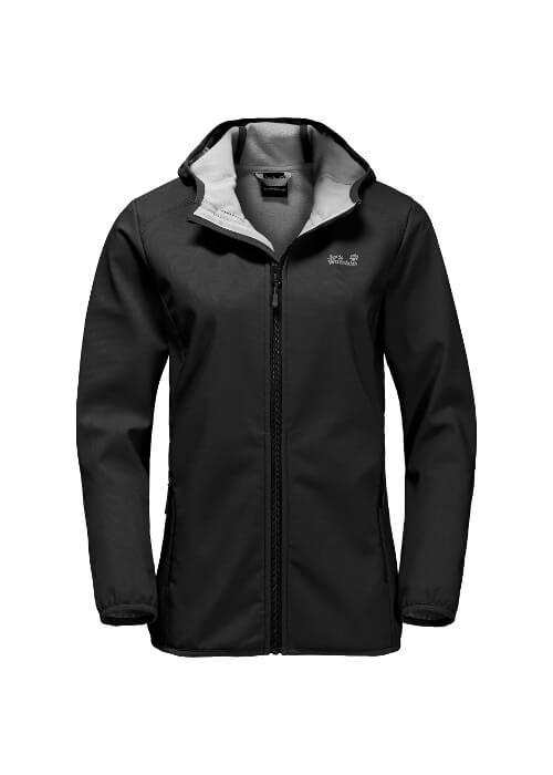 Jack Wolfskin – Northern Point Windproof Softshell Jacket W – Black