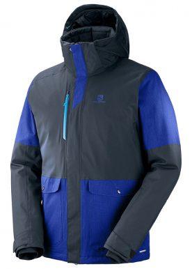 Salomon - Stormtrack Jacket M - Blue