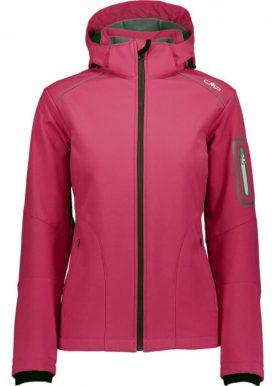 Cmp - Softshell Zip Hood Jacket - Pink